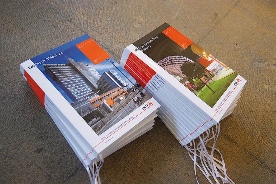 Annual reports 2010, ING Real Estate / jaarverslagenontwerp / 2011